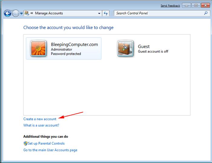 Create a Windows Admin User