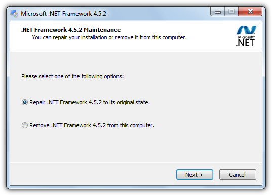 Fix Windows components Manually