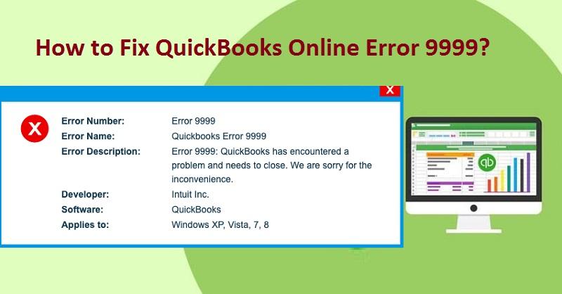 Error Code 9999 QuickBooks