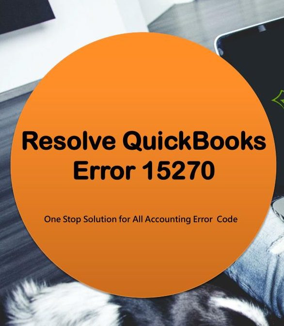 QuickBooks Update Error 15270