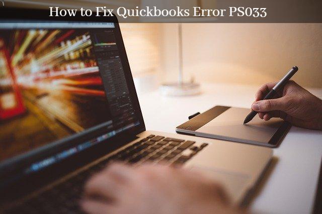 QuickBooks Payroll Update Error PS033