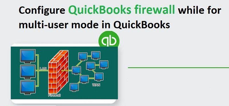 Quickbooks Firewall Error
