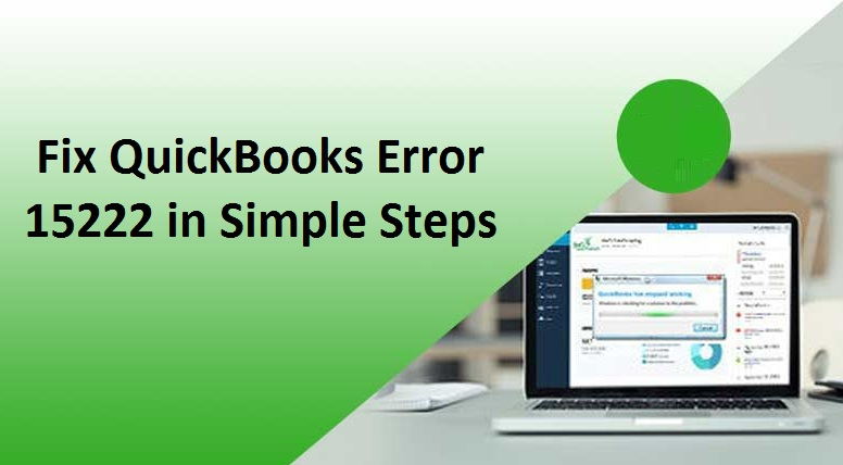 Quickbooks error 15222