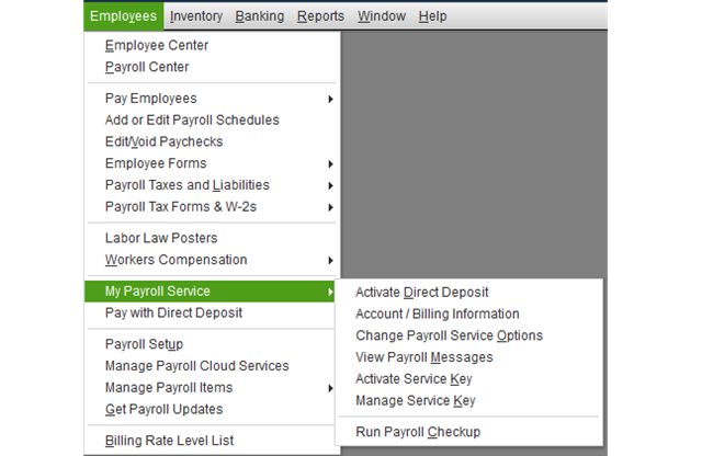 Make Changes in Quickbooks Payroll and Updates TO FIX quickbooks error 12029
