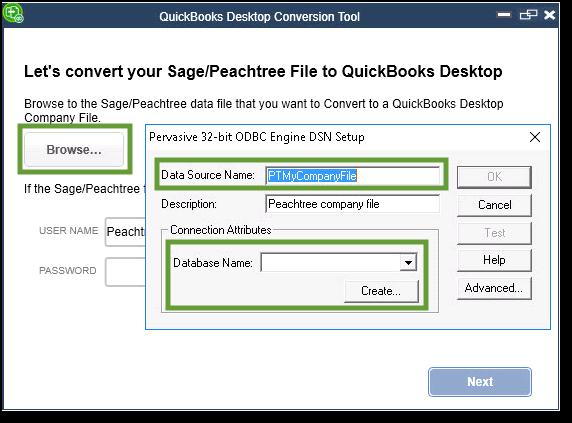 Convert Peachtree to QuickBooks