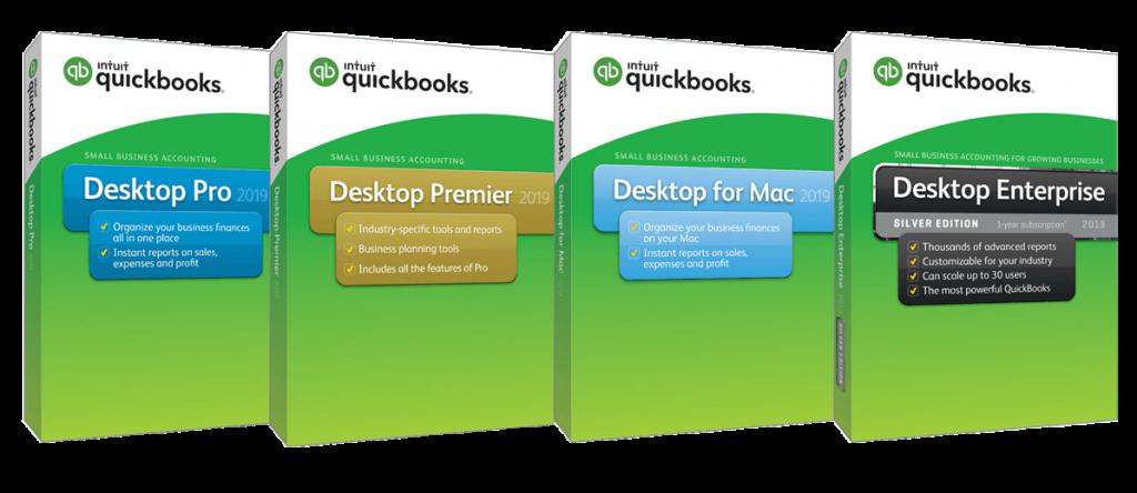 types of quickbooks