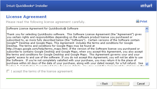 e software license agreement