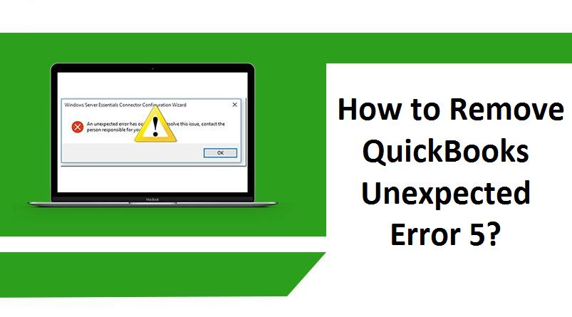 quickbooks got unexpected error 5 in call to netsharegetinfo