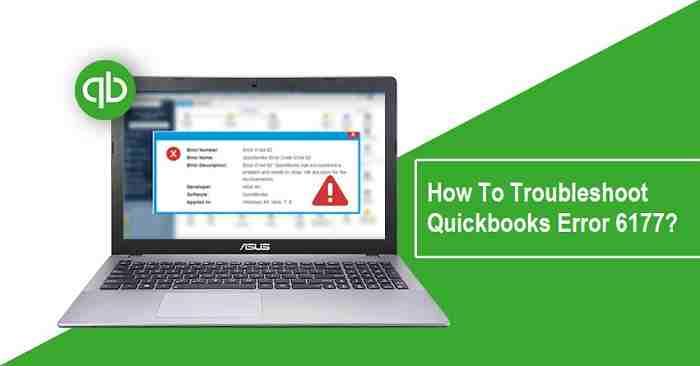 Quickbooks error 6177