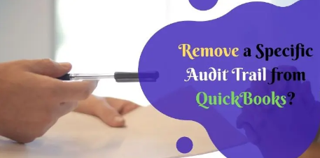 Quickly Turn off Audit Trail in QuickBooks