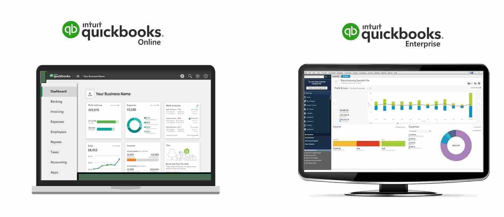 convert Quickbooks enterprise to Pro